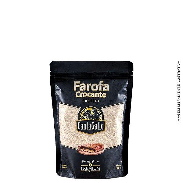 Farofa Crocante Costela 300g Canta Gallo