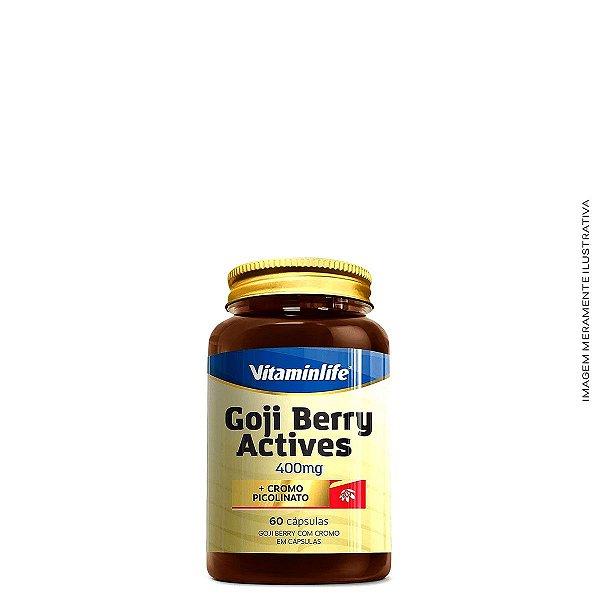 Goji Berry Actives (60 caps) - Vitaminlife