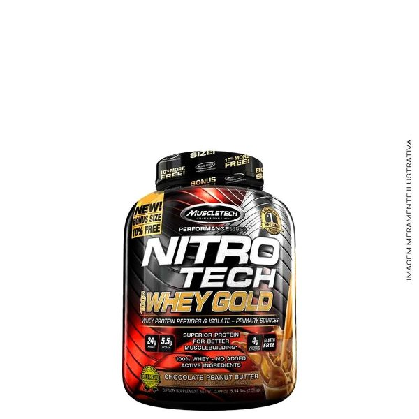 Whey Protein NT Gold 2.51kg - Muscletech