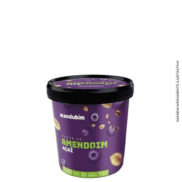 Pasta de Amendoim Açaí 450g -  Mandubim