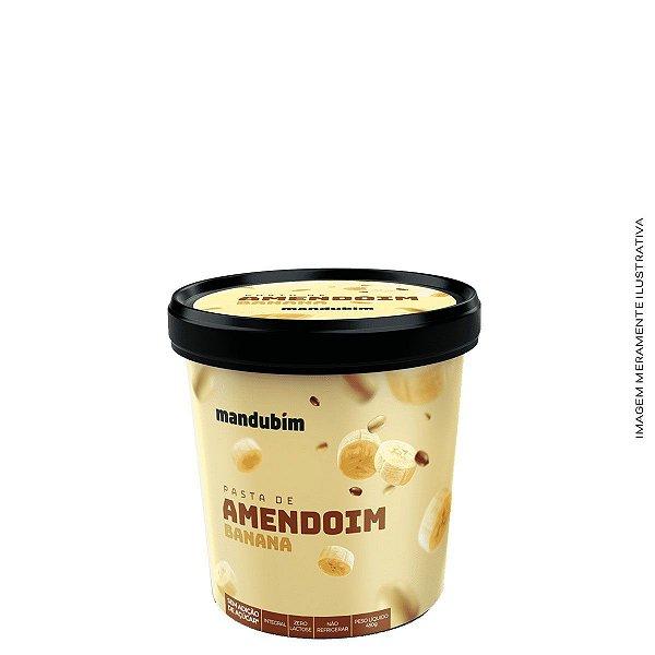 Pasta de Amendoim Banana 450gr - Mandubim