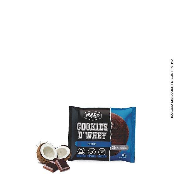 Cookie de Whey sabor Prestígio 80g  - Prado Protein
