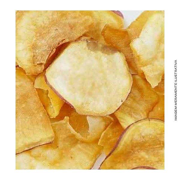 Batata Doce Branca Chips Assada
