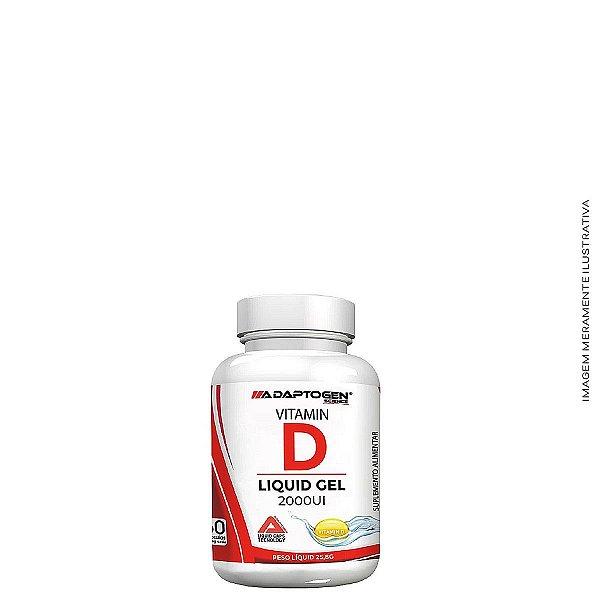 Vitamina D 2000UI 60 caps - Adaptogen