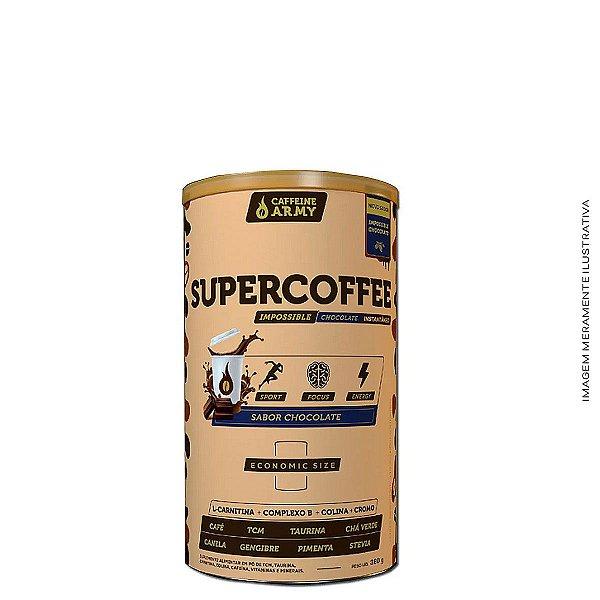 Supercoffee 380g Chocolate - Caffeine Army