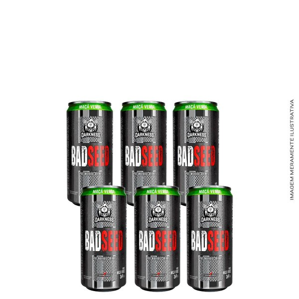 Bad Seed Drink 6uni Darkness - Integralmedica