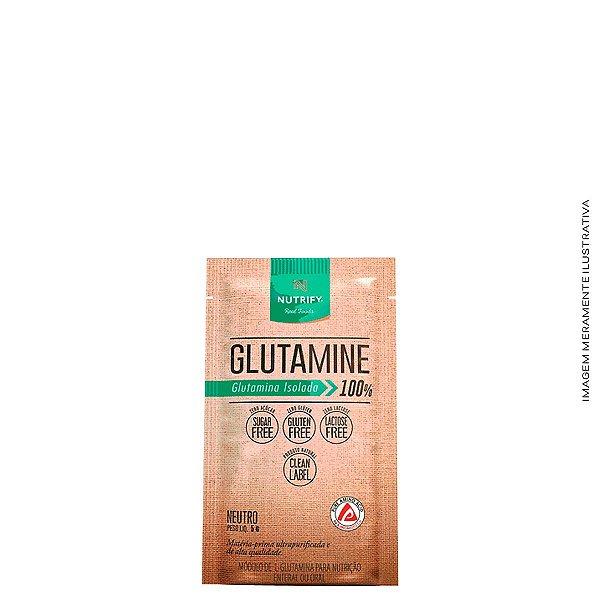 L-Glutamine Isolada Sachê 5g Glutamina - Nutrify