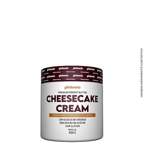 Creme de Amendoim Cheesecake 500g - Giohnutz