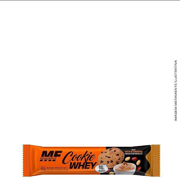 Cookie Whey Pasta de Amendoim c/ Gotas de Chocolate 50g - Muscle Full
