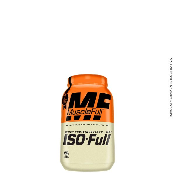Iso-Full Protein 900g Whey Isolado - Muscle Full