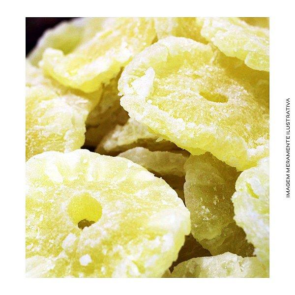 Abacaxi Cristalizado em Rodelas