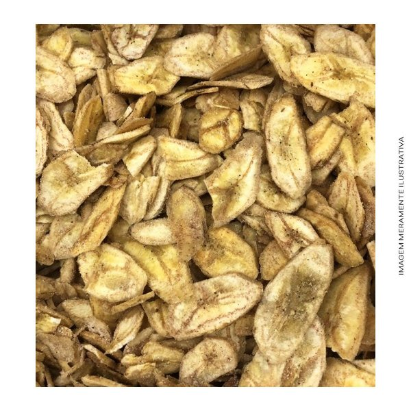 Banana Chips Doce com Canela
