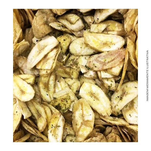Banana Chips Cebola e Salsa