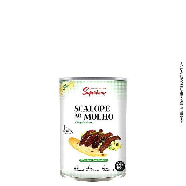 Escalope Ao Molho Caseiro Vegan 380g - SuperBom