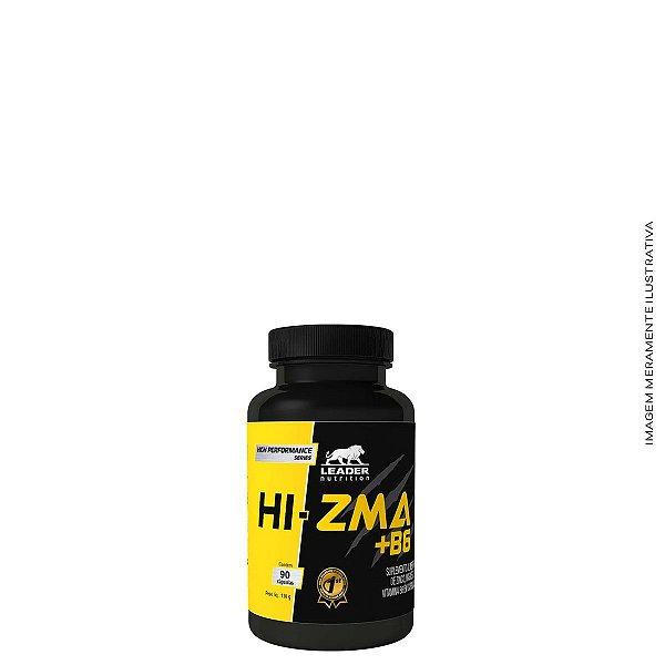 Hi ZMA + B6  90 Capsulas - Leader Nutrition