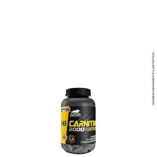 Hi - Carnitine 2000 + Cromo 60 caps - Leader Nutrition