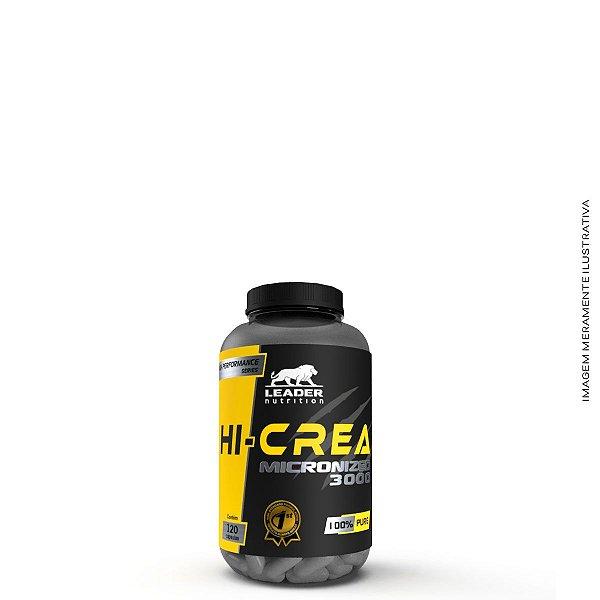 Hi - Creatina Micronized 3000 120 caps - Leader Nutrition