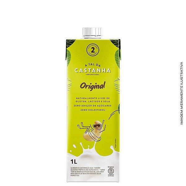 Bebida Vegetal a Base de Castanha Original 1L - A tal da Castanha