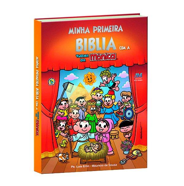 Minha primeira Bíblia com a turma da Mônica