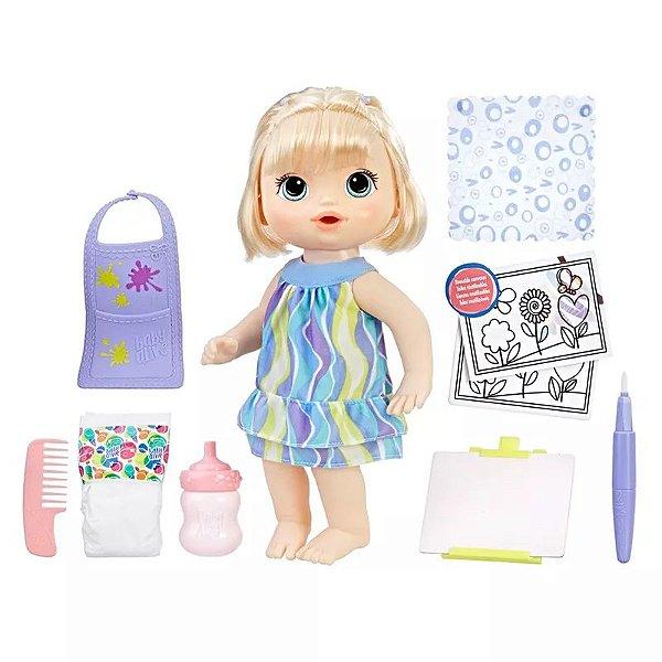 7cafecd648 Baby Alive Pequena Artista - Brinquedeiro