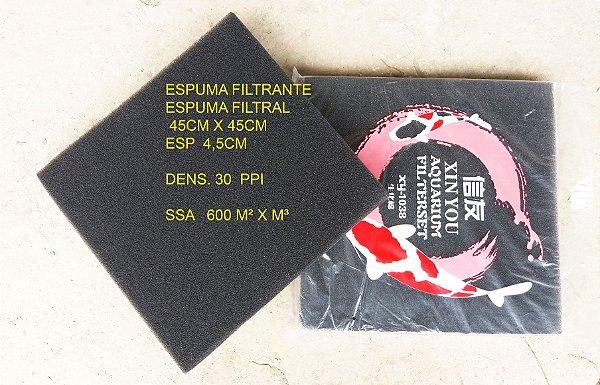 Espuma Filtrante Placa