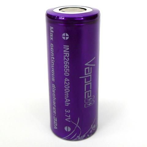 VAPCELL 26650 32A FLAT TOP 4200MAH BATTERY