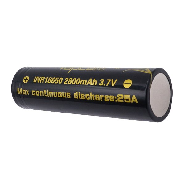 VAPCELL 18650 2800mah 25A BATTERY FLAT TOP