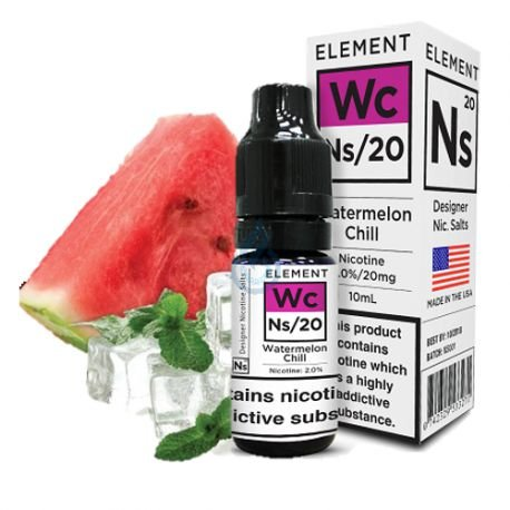 Element E-liquid - Watermelon Chill Nic salt