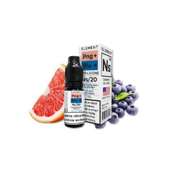 Element E-liquid - Pink Grapefruit+Blueberry Nic salt