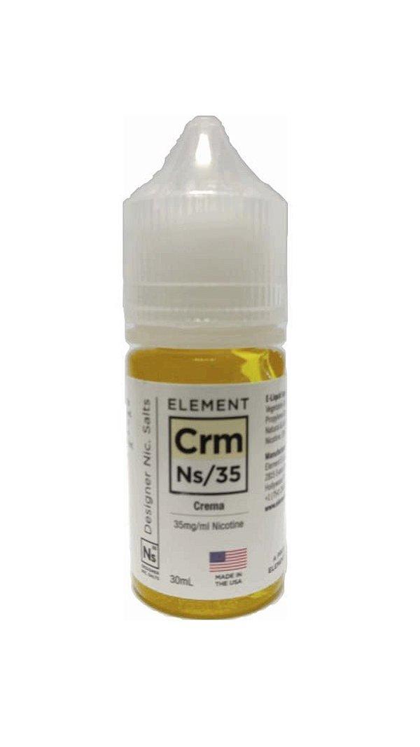 Element E-liquid - Crema Nic salt
