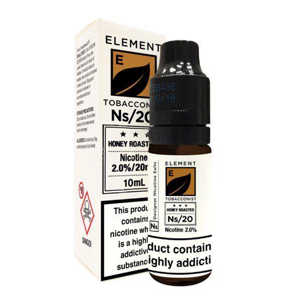 Element E-liquid - Honey Roasted Tobacco Nic salt