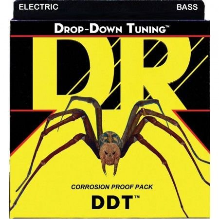 Encordoamento Dr Strings Contrabaixo 5 Cordas (.045-.125) -DDT5-45- Drop-Down Tunning