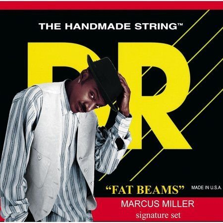 Encordoamento Dr Strings Contrabaixo 4 Cordas (.045-.105) -MMS-45-Fat Beams-Marcus Miller Signature
