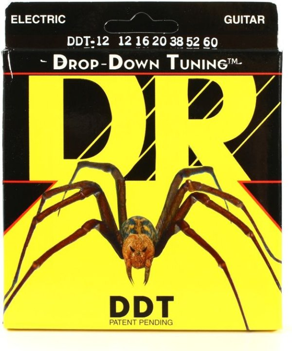 Encordoamento Dr Strings Guitarra 6 Cordas (.012-.060) -DDT-12- Drop-Down Tuning