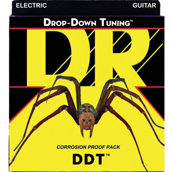 Encordoamento Dr Strings Guitarra 6 Cordas (.010-.046) -DDT-10 - Drop-Down Tuning