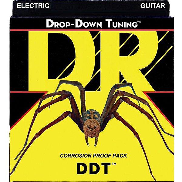 Encordoamento Dr Strings Guitarra 6 Cordas (.010-.046) -DDT-10 - Drop-Down Tuning