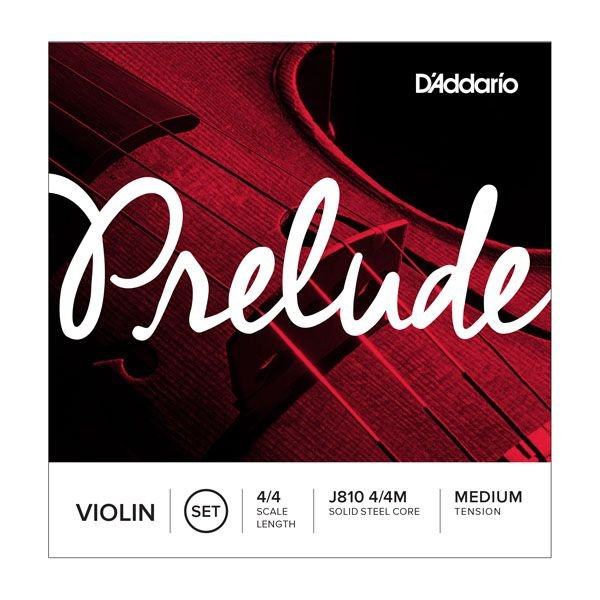 Encordoamento Daddario Violino - Medium Tension - (J810 4/4M Solid Steel Core)