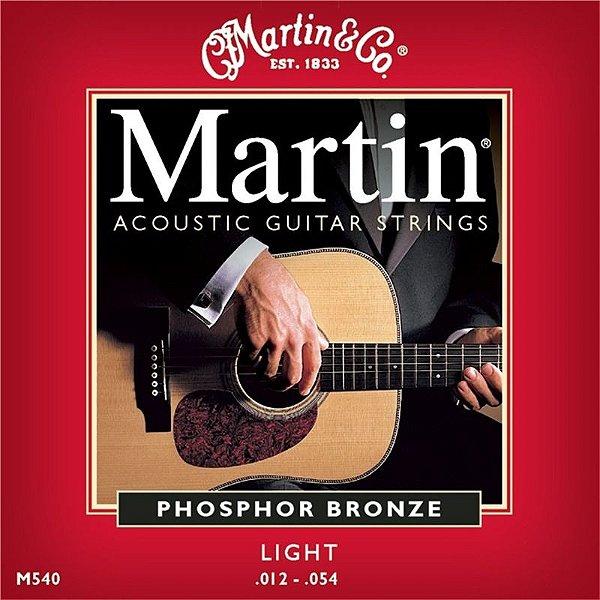 Encordoamento Violão Martin - M540 - (.012-.054)