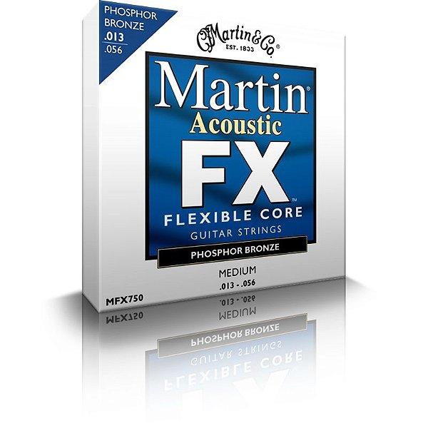 Encordoamento Violão Martin - MFX750 - (.013-.056)