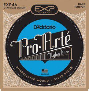 Encordoamento Violão Daddario 6 Cordas NYLON (HARD TENSION) EXP46