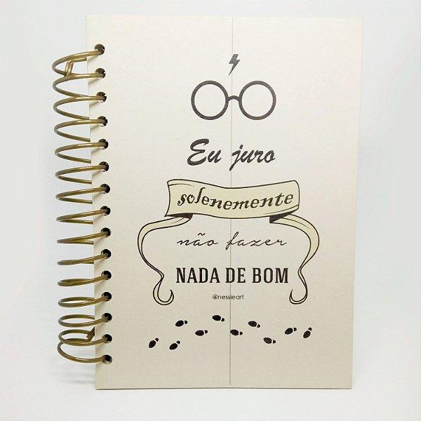 Caderno A5 - Eu juro solenemente