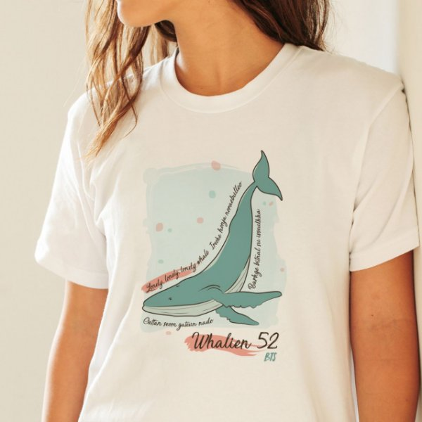 Camiseta - BTS Whalien 52