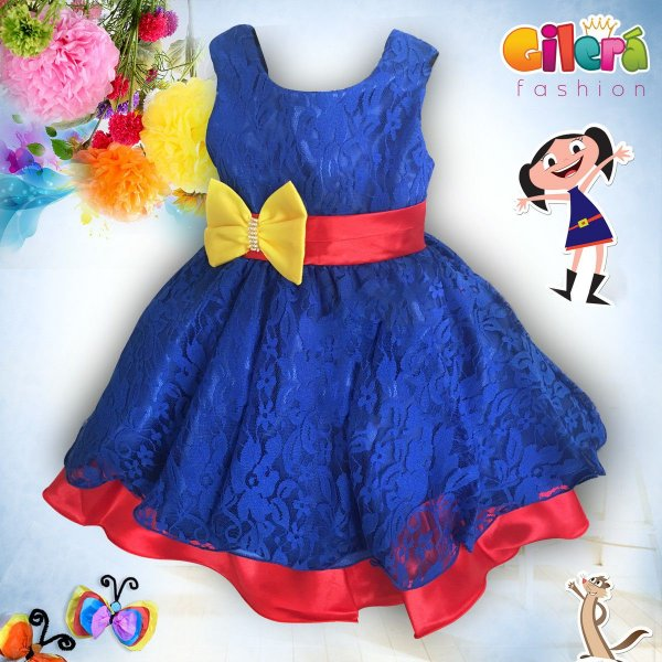 Vestido Infantil Para Festa Tema Show da Luna