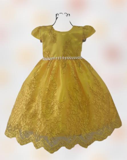 Vestido Infantil Festa Luxo Bela Realeza