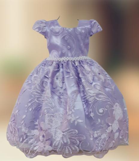 Vestido Infantil Festa Luxo Princesinha Sofia Realeza