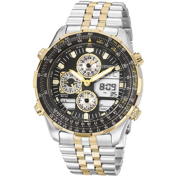 be91b679a67 Relógio Masculino Citizen ProMaster Prata Dourado Tz10173p - Retran ...