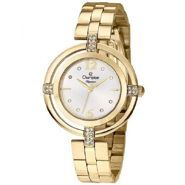 8563b841e4a Relógio Champion Feminino Dourado Cn25421h - Retran Joias