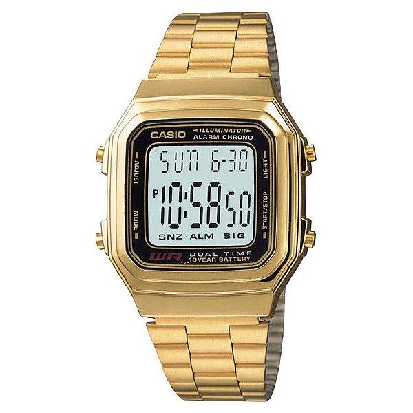 Relógio Casio Masculino A178wga1adf - Retran Joias a2f1ce4389