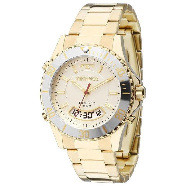 89315ac2b13 Relógio Technos Masculino T205ja 4b - Retran Joias