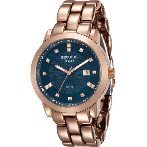 Relógio Seculus Feminino Casual Rose 20422lpsvra8 - Retran Joias d2c4549e63